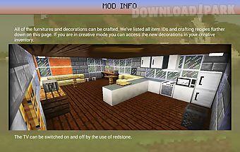 Decoration furniture mod mcpe