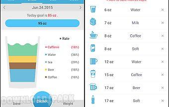 Drinking water diary - alarm