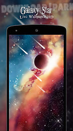 galaxy star live wallpaper hd