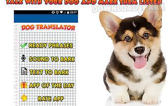 Human to dog translator prank