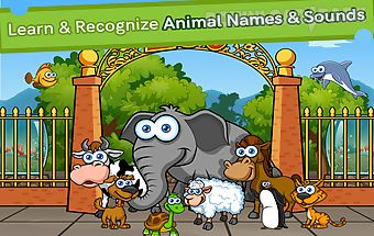 Preschool zoo game animal game