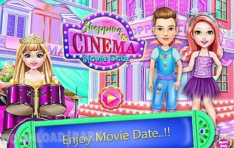 Shopping cinema movie date