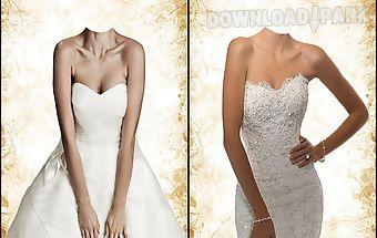 Wedding dress photo maker