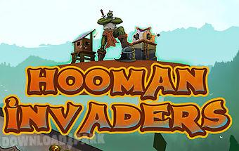 Hooman invaders: tower defense