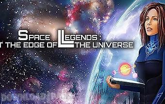 Space legends: edge of universe