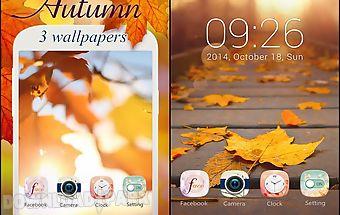 Autumn go launcher theme