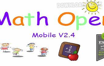 Cool fun math kids game puzzle