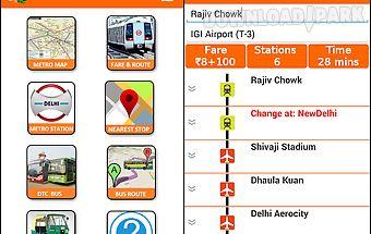 Delhi metro dtc bus guide