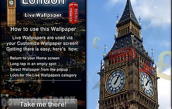 London live wallpaper