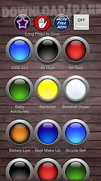 Big buttons sound effects Android Anwendung Kostenlose