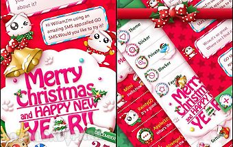 Go sms christmas cat theme
