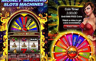 Money wheel slot machine game