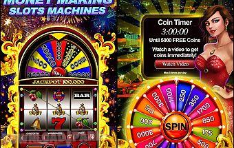 Money wheel slot machine game