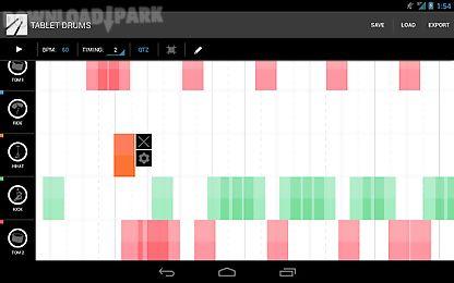 tablet drums