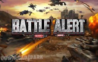 Battle alert: war of tanks