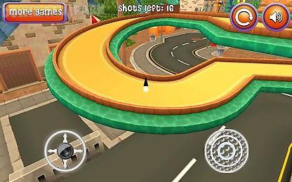 mini golf: cartoon city