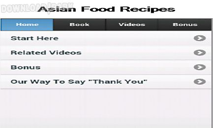 Asian food recipes app android app free download in apk asian food recipes app forumfinder Images