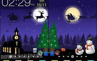 Christmas: moving world