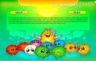 Colorful characters furby