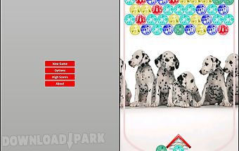 Dogs bubble shooter