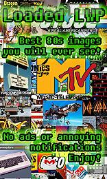i love the 80s live wallpaper