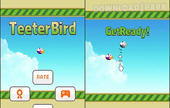 Teeter bird - flappy bird versio..