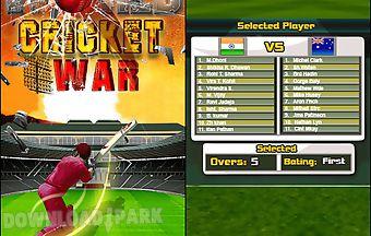 World cricket war free