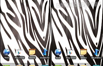 Zebra print live wallpaper