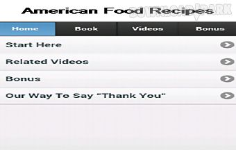 American food recipes