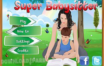 Hidden object: babysitter
