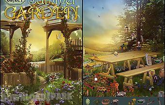 Hidden object: summer garden
