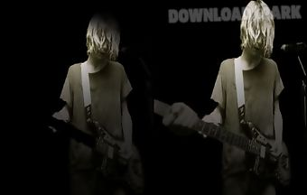 Kurt cobain live wallpaper