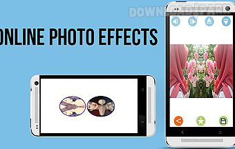 Online photo editor effects