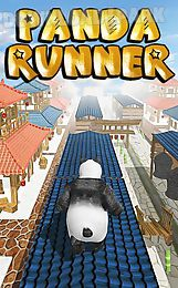 panda runner: jump and run far