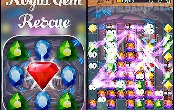 Royal gem rescue: match 3