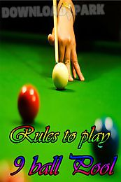 rules to play 9 ball pool