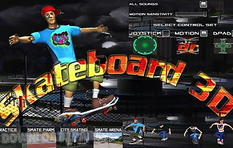 Skateboarding3d