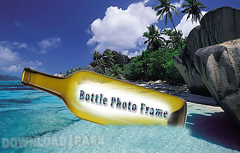 Bottle photo frame