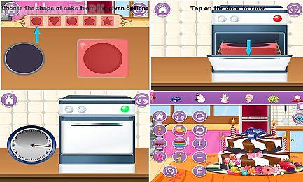cake maker - game for kids