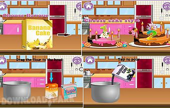 Cake maker - game for kids