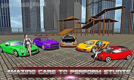 car race and stunts driver 3d