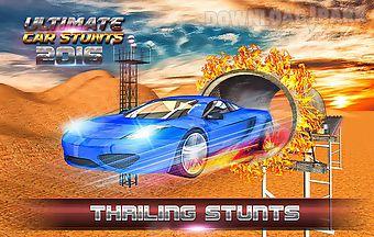 Car race and stunts driver 3d