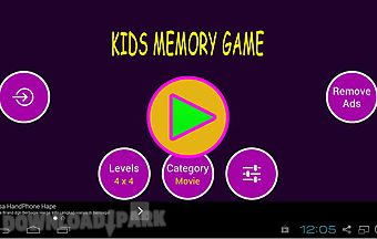 Fun memory games for kids