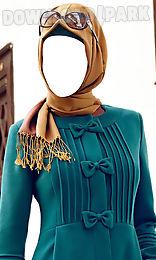 hijab fashion photo montage