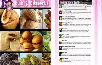 Malaysia kuih and desserts app