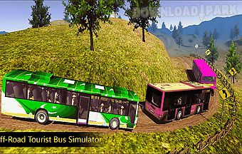 Off-road tourist bus sim 3d