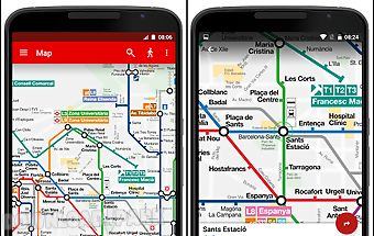 Barcelona metro tmb map routes