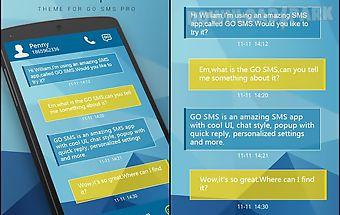 Go sms pro unique theme ex