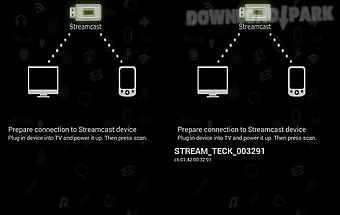 Streamcast miracast/dlna
