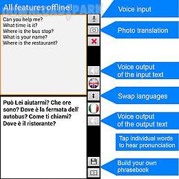 translate offline italian free